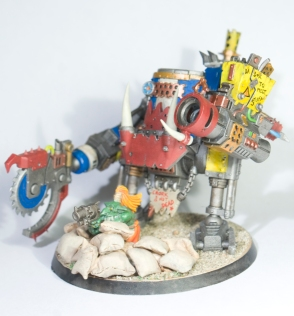 Iron Gobz - KillaKan (with grot gun)