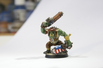 First test model (more than 4 years ago) - Alabama's Greenest (shoota boyz)