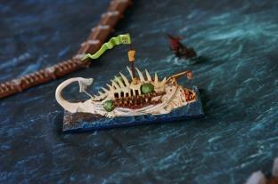 My dear Skavens, sailing a dead whale