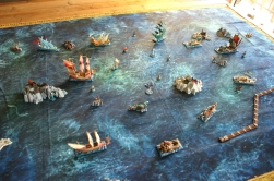 Full scale battle