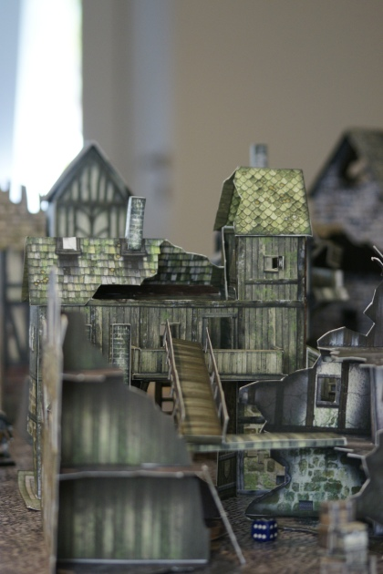 Mordheim urbanists used alternative architecture...