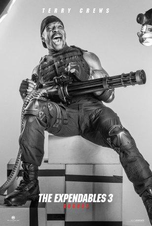 "The Expendables - Terry aka ""Big Gun"""
